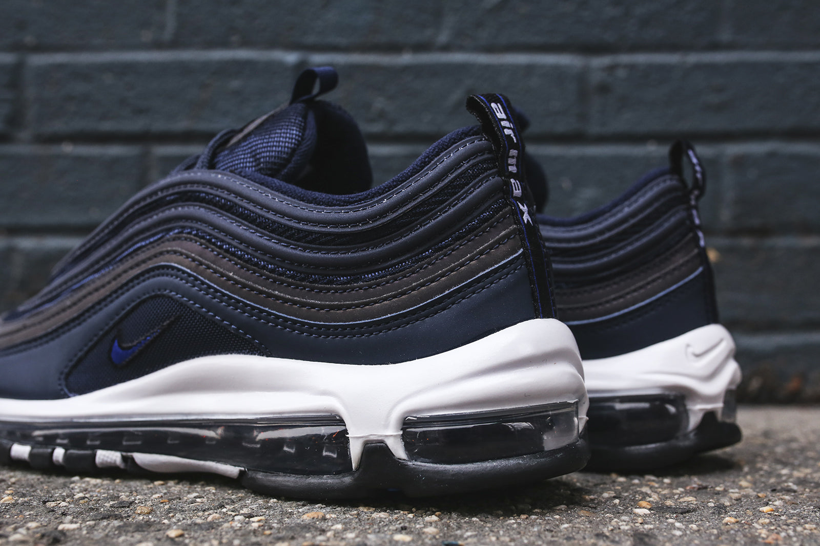 huge selection of be9cc 95a96 Nike Air Max 97 - Navy   White – Kith