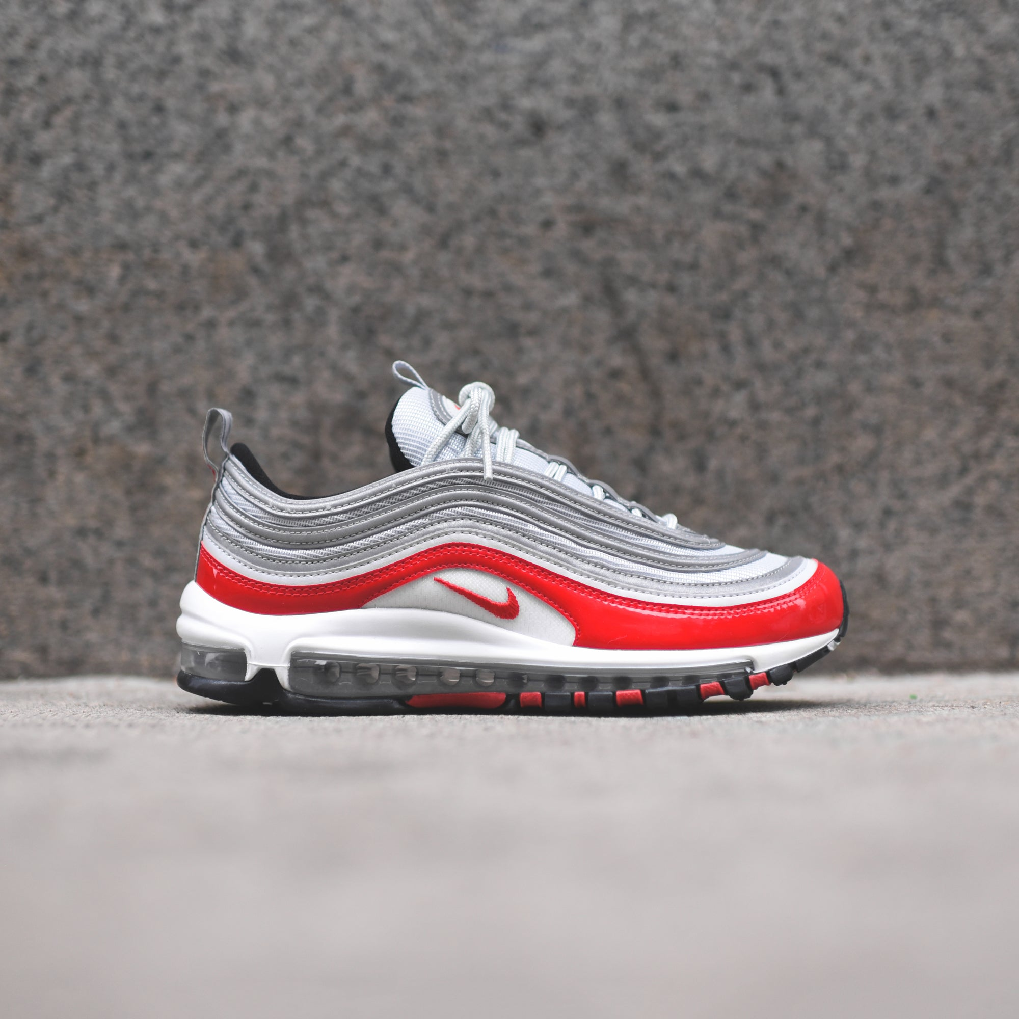 Nike Air Max 97 Pure Platinum University Red – Kith