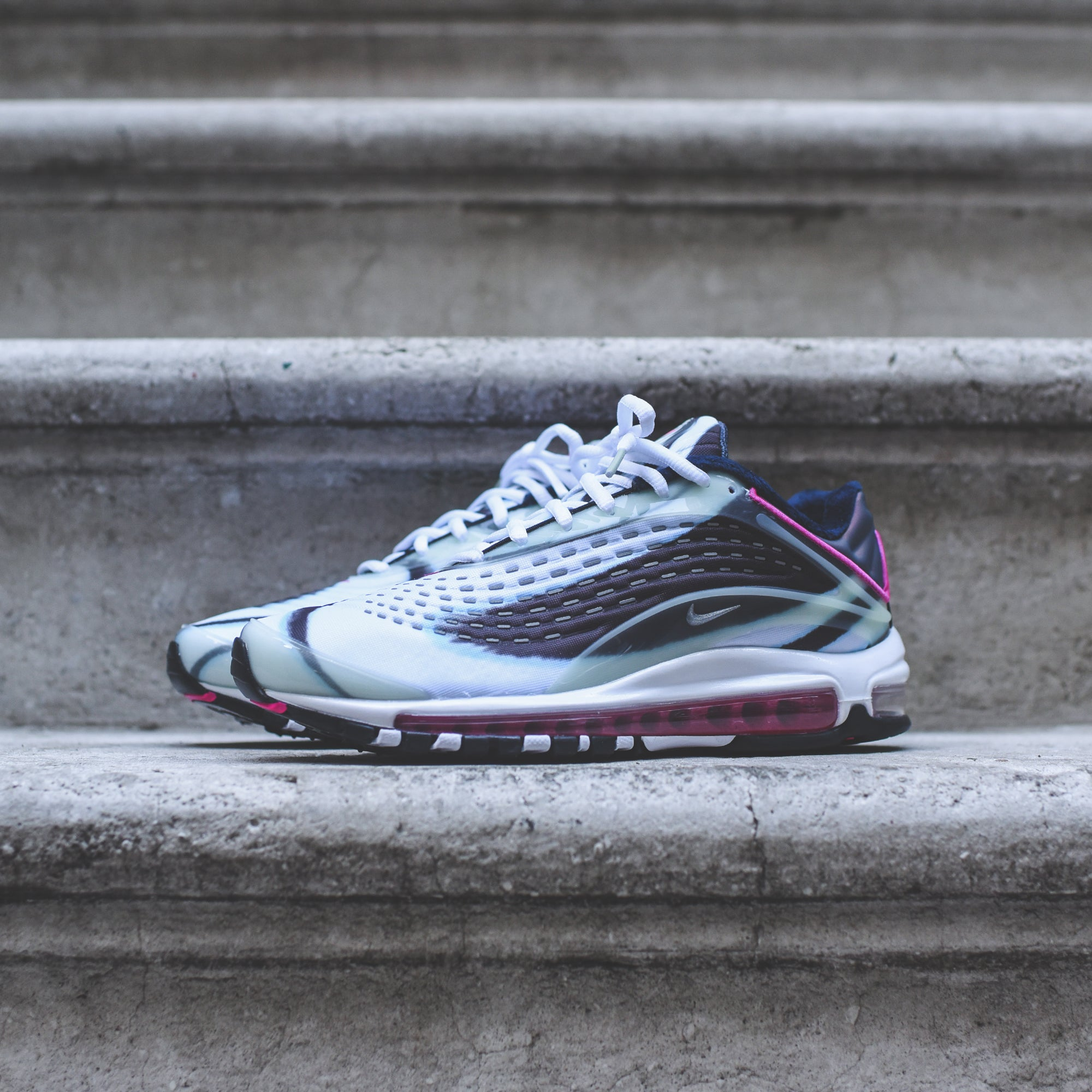on sale 6e664 45f3a Nike Air Max Deluxe - White / Green – Kith