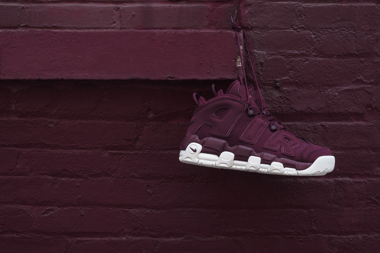6a0c71cddc96b2 Nike Air More Uptempo  96 QS - Bordeaux. May 23