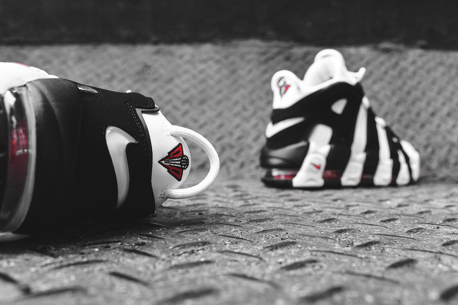 100% authentic 8f6ea 4f701 Nike Air More Uptempo - White   Black   Varsity Red. July 06, 2017. -3