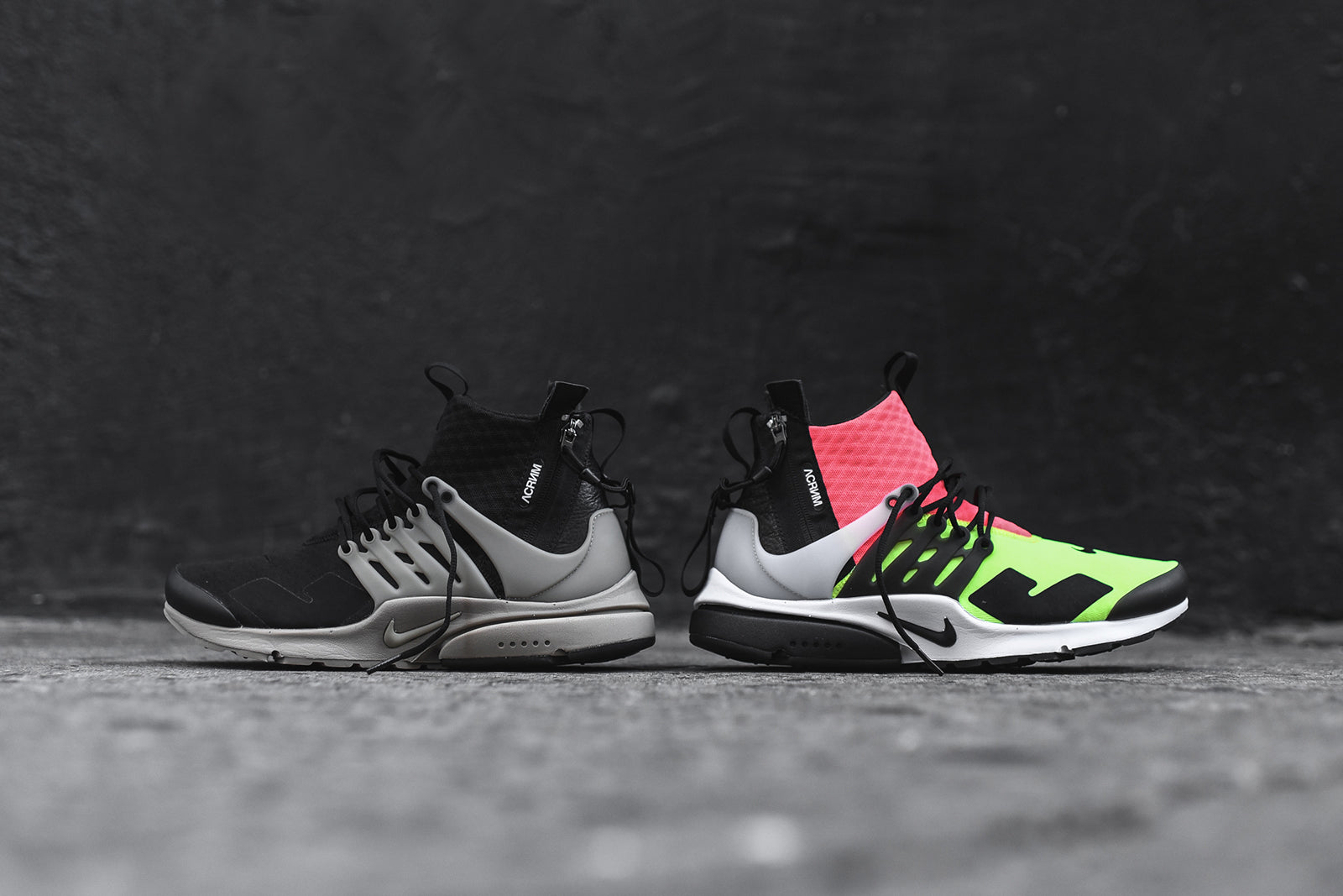timeless design b9194 d8701 Nike x Acronym Air Presto Mid Pack – Kith