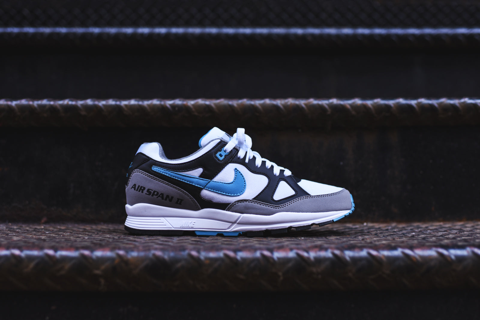 low priced 5ddb8 fedca Nike Air Span 2 - White / Grey / Black – Kith
