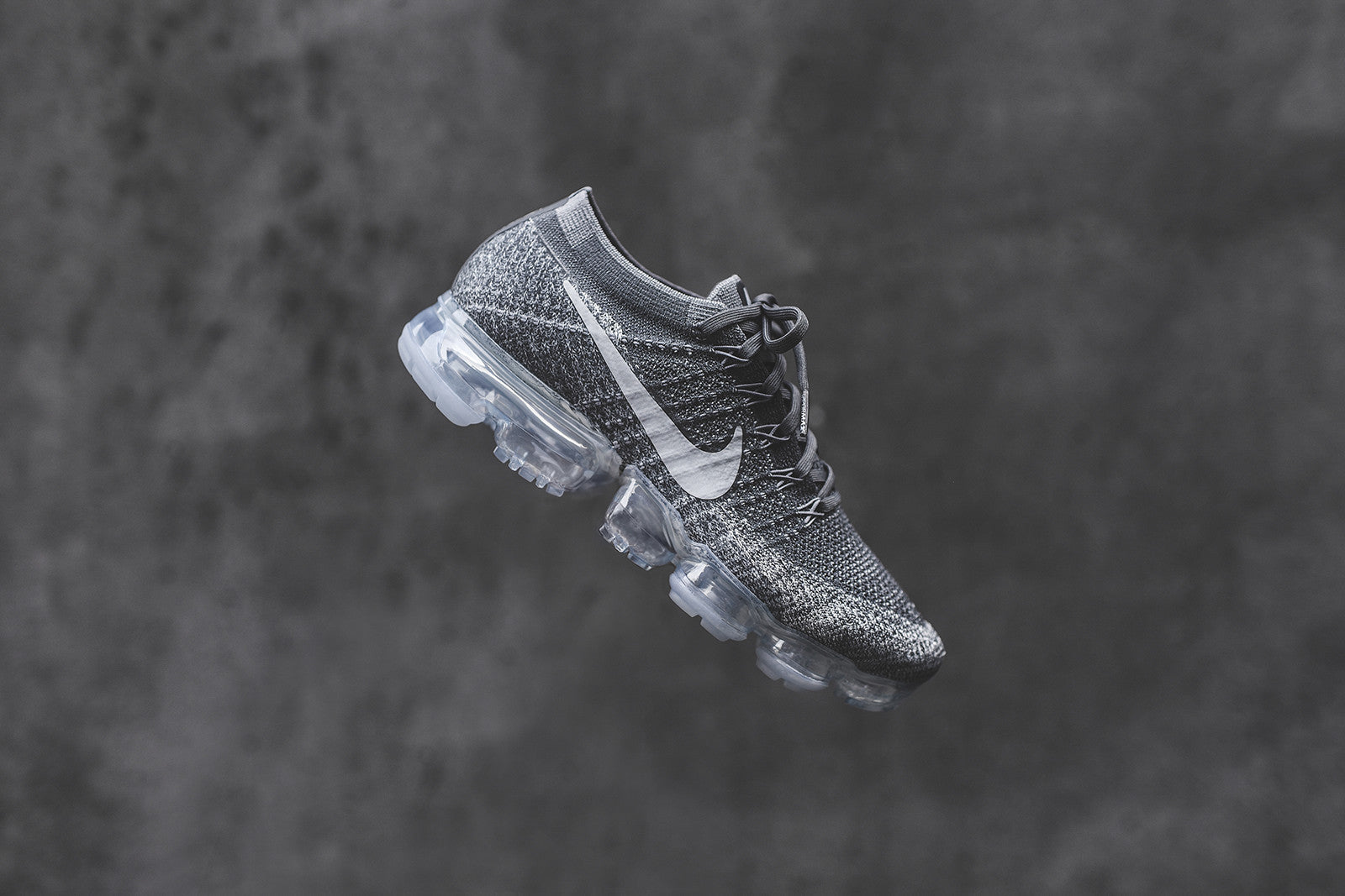 0e5fedbf2b8 Nike WMNS Air VaporMax Flyknit - Dark Grey   Black   Wolf Grey. April 26