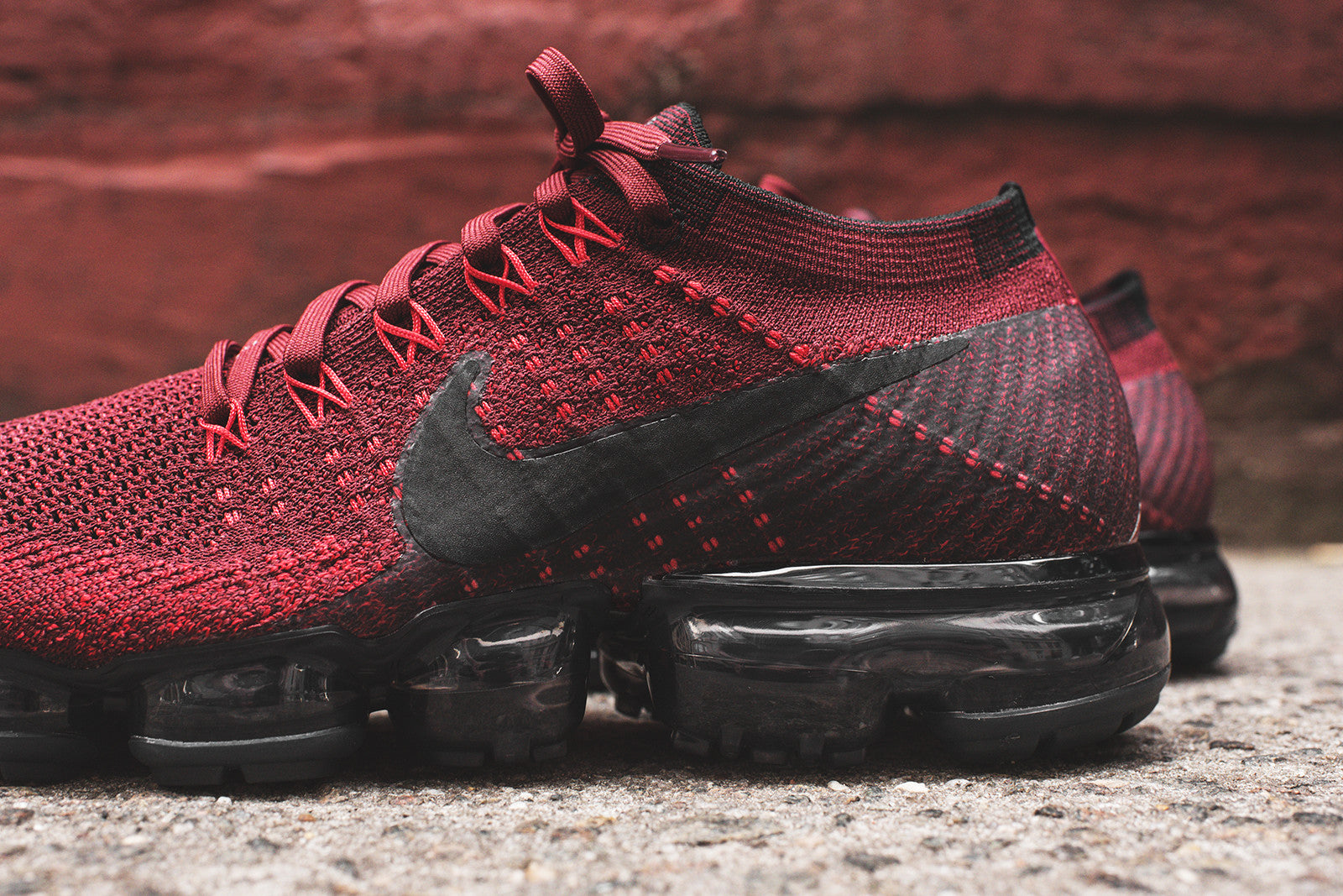 newest c8bd2 f60e6 Nike Air VaporMax Flyknit - Red – Kith