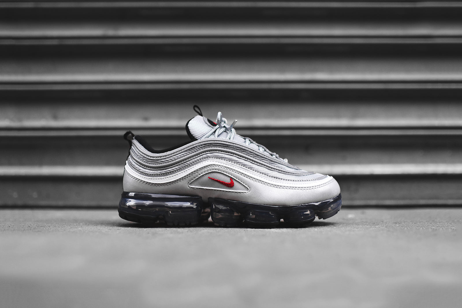 competitive price e2f34 c3c94 Nike Air VaporMax  97 - Silver Bullet. April 12, 2018. -4. -1