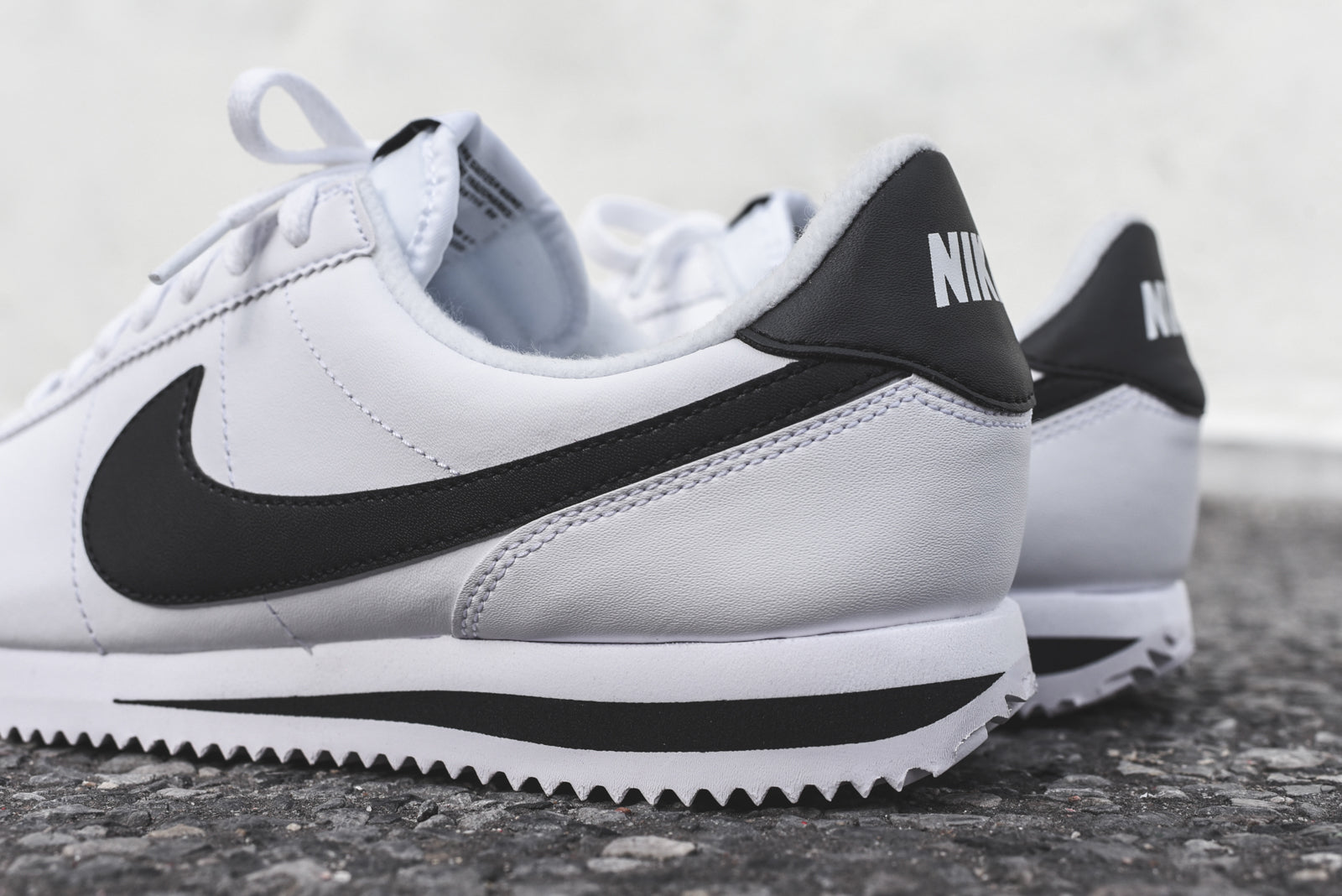 huge selection of 7447e bcd74 Nike Cortez - White / Black – Kith