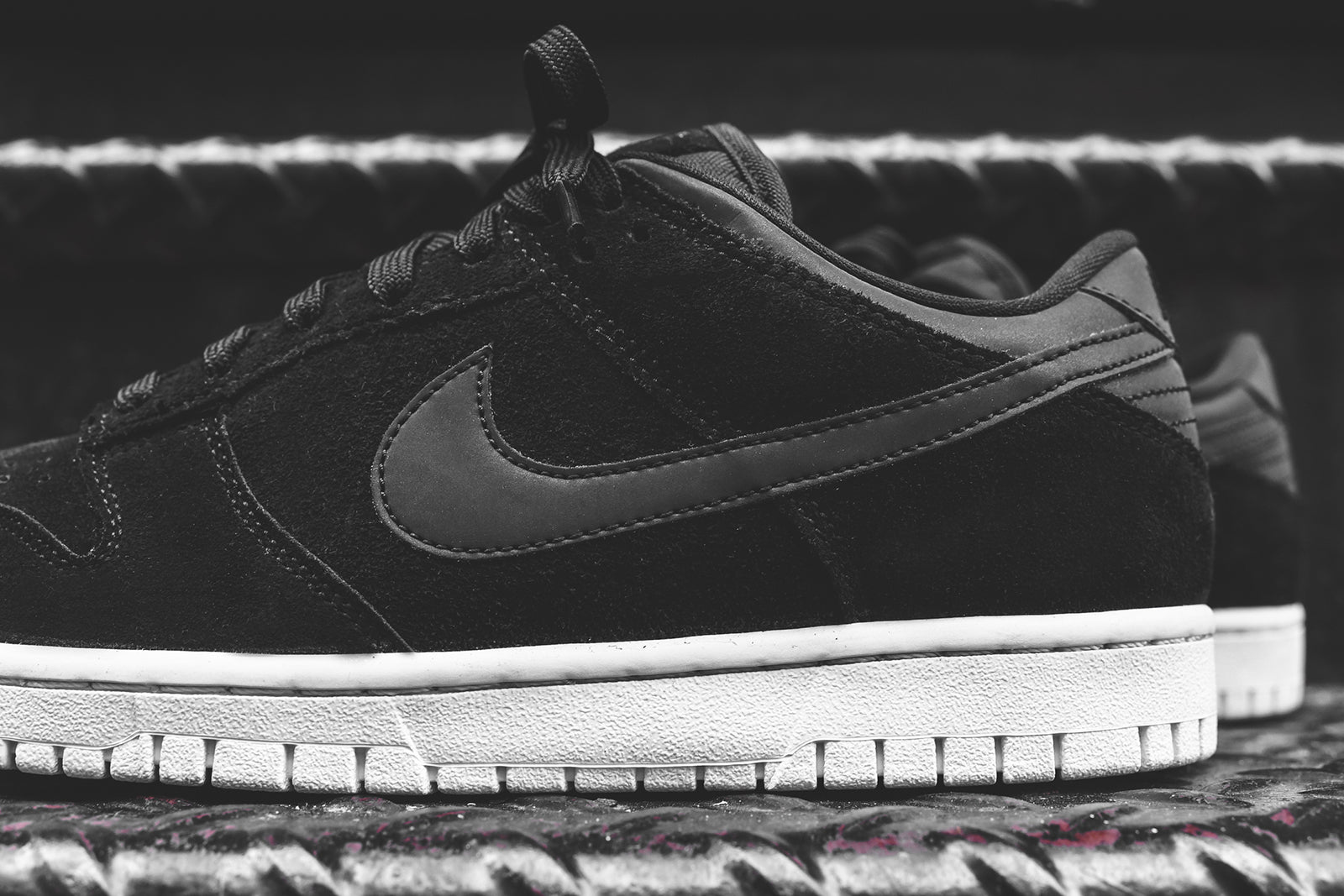 cheap for discount ffbad b582b Nike Dunk Low PRM - Black – Kith