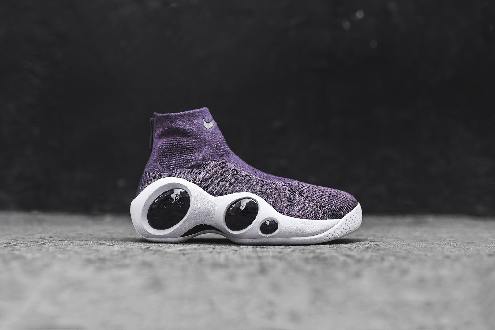6156a3430d79 Nike Flight Bonafide - Purple   White – Kith