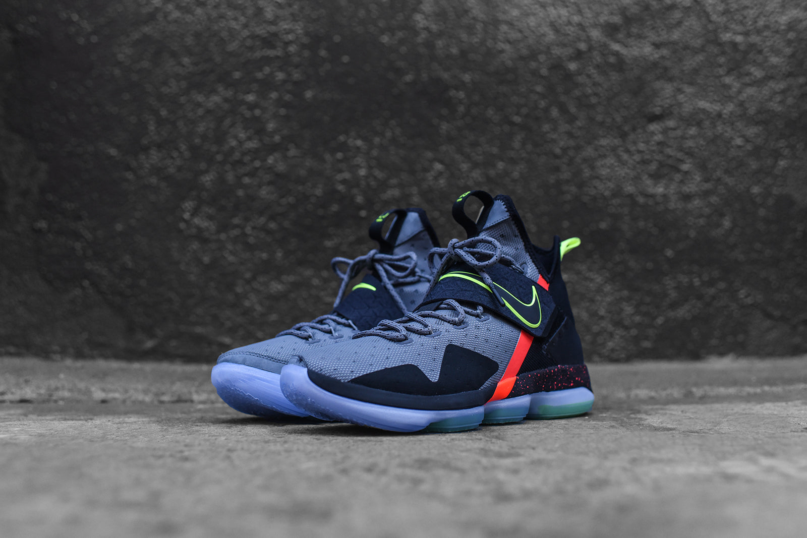 watch 16994 efef0 Nike LeBron 14 - Out of Nowhere – Kith