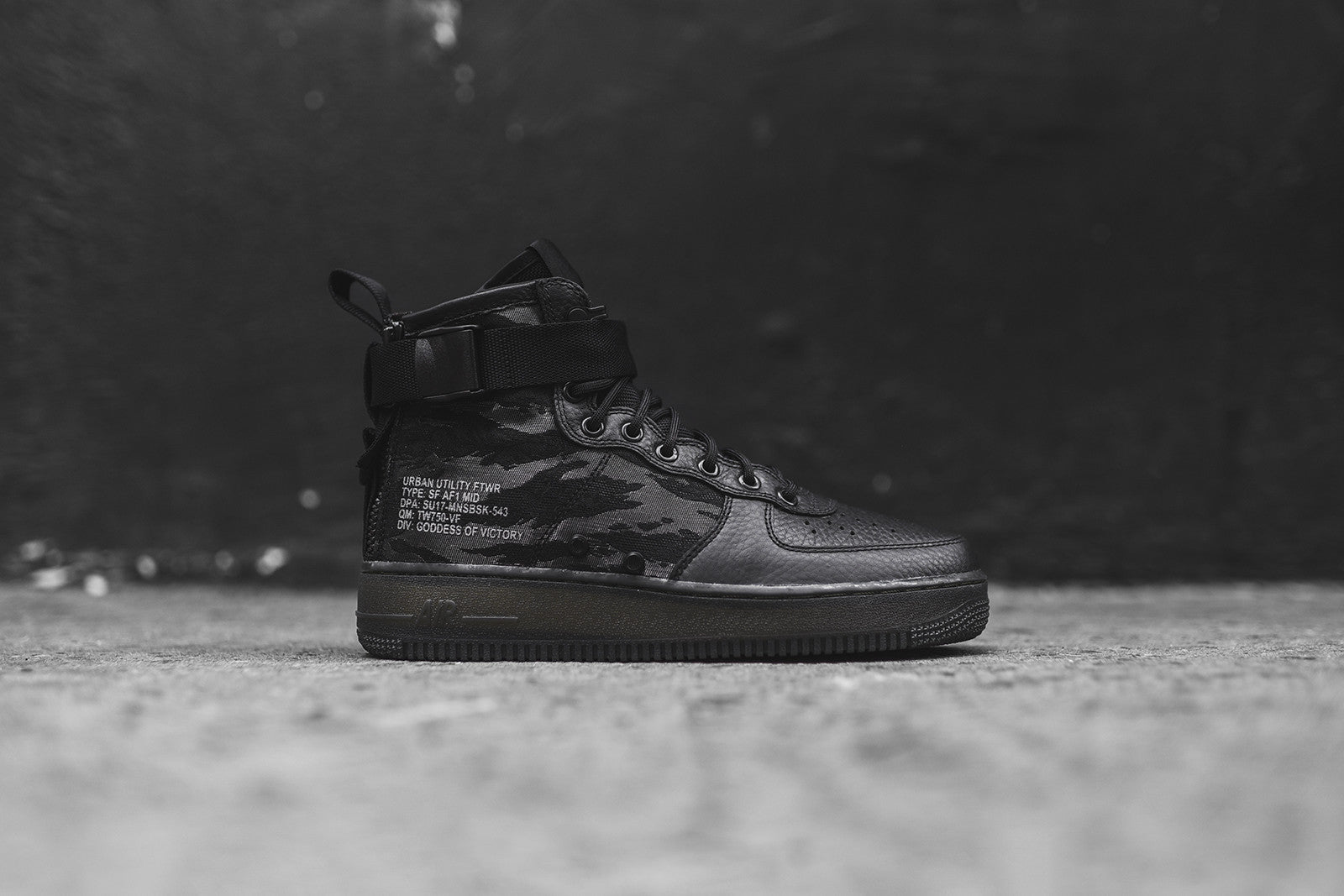 best sneakers 132c4 e64fe Nike SF-AF1 Mid QS - Black   Camo. June 08, 2017. -4. -1