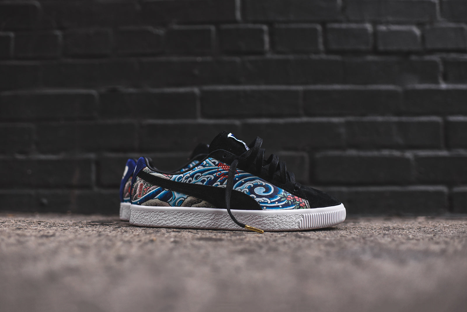 purchase cheap 31e5b 095d0 Puma x Atmos Clyde - Three Tides Tattoo – Kith