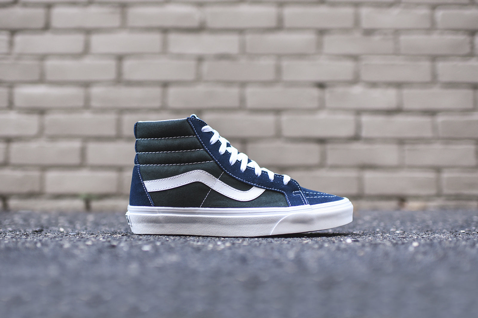 0240867728 Vans Sk8-Hi Reissue - Dress Blue   Scarab – Kith