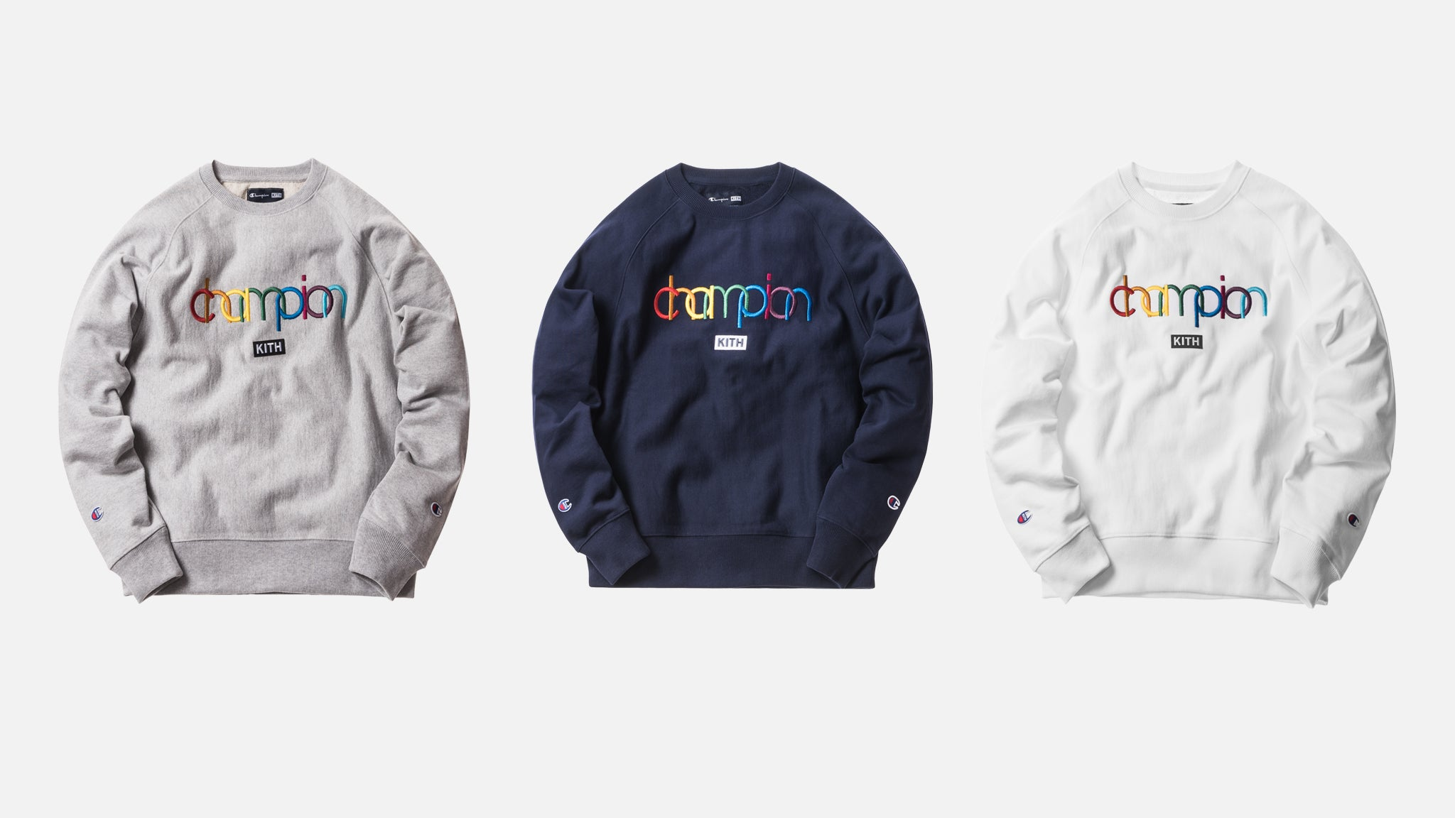 9ec4393f3a6a A Closer Look at Kith x Champion Collection