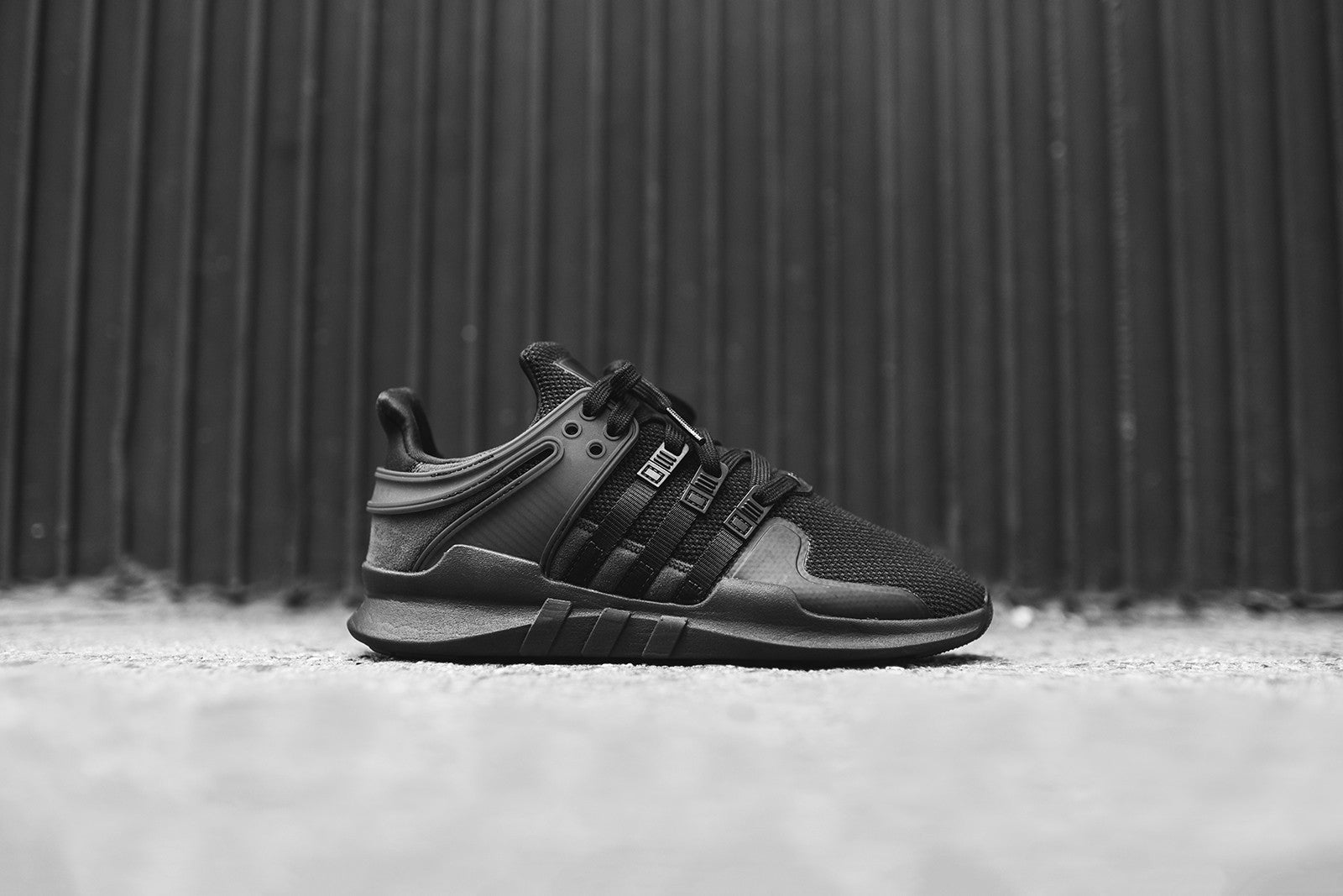the best attitude 653cb 2c1df adidas Originals WMNS EQT Support ADV - Triple Black – Kith