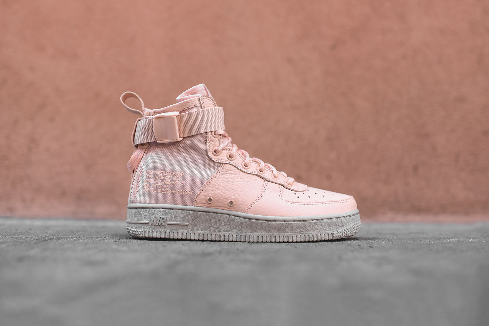buy popular b400e 3a539 ... wholesale nike wmns sf af1 mid pink grey a7be4 015d8