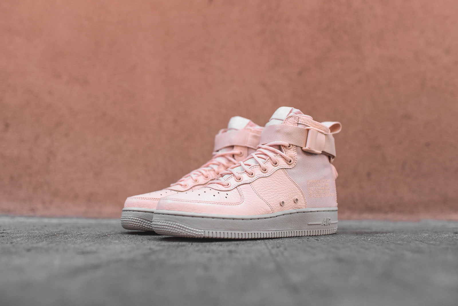 new style 9d4a4 b6d46 Nike WMNS SF-AF1 Mid - Pink / Grey – Kith