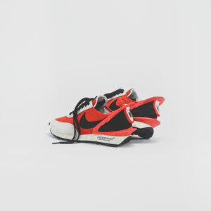 Nike x Undercover WMNS Daybreak - University Red / Black / Spruce 2