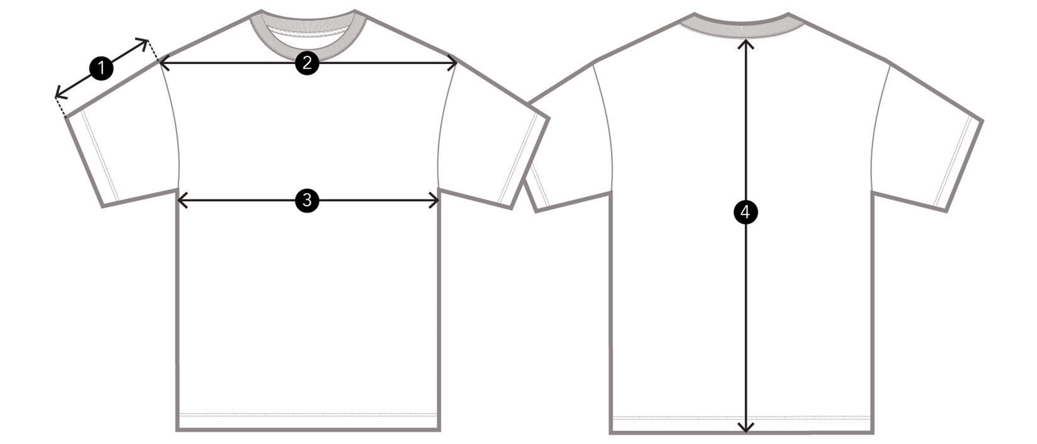 Kith for Russell Athletic Quinn Tee - French Clay Size Guidelines