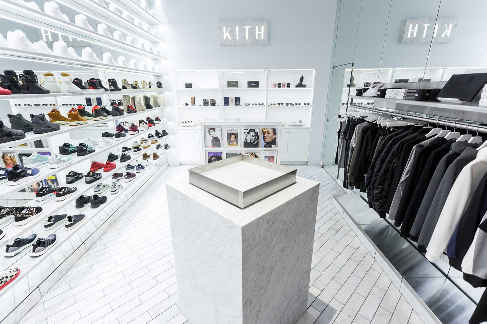 The Kith Women's Store at 64 Bleecker St