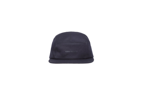 Norse Projects Twill 5-Panel Hat - Navy