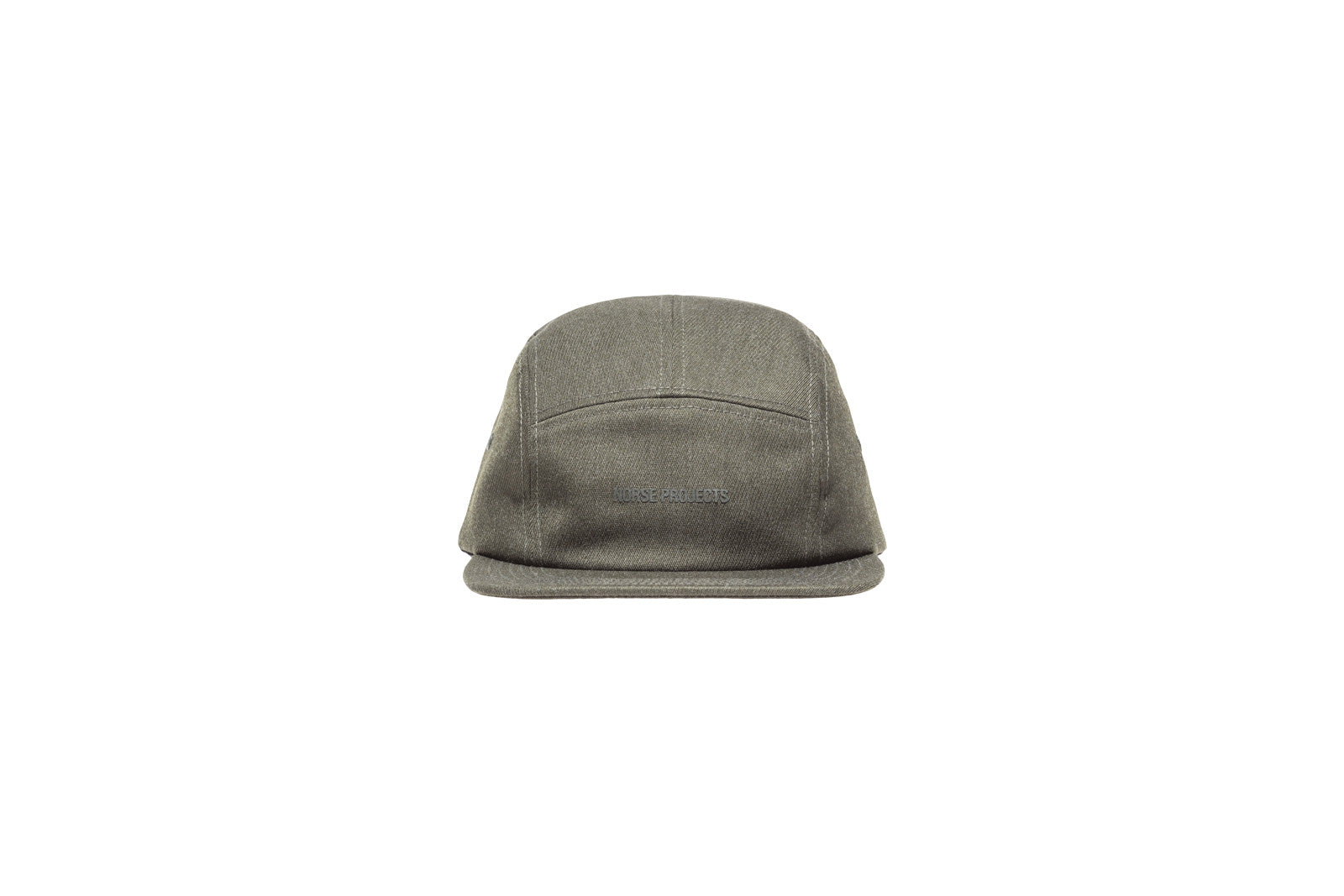 Norse Projects Twill 5-Panel Hat - Olive