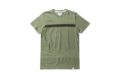 Norse Projects Niels Bubble Tee - Olive
