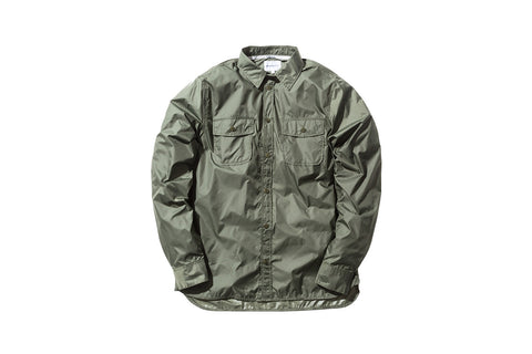 Norse Projects Hans Ripstop Shirt - Dried Olive