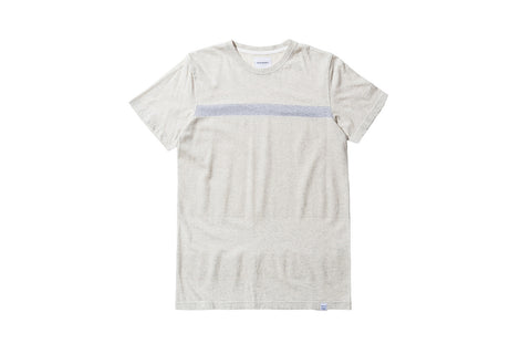 Norse Projects Niels Bubble Tee - Grey Melange