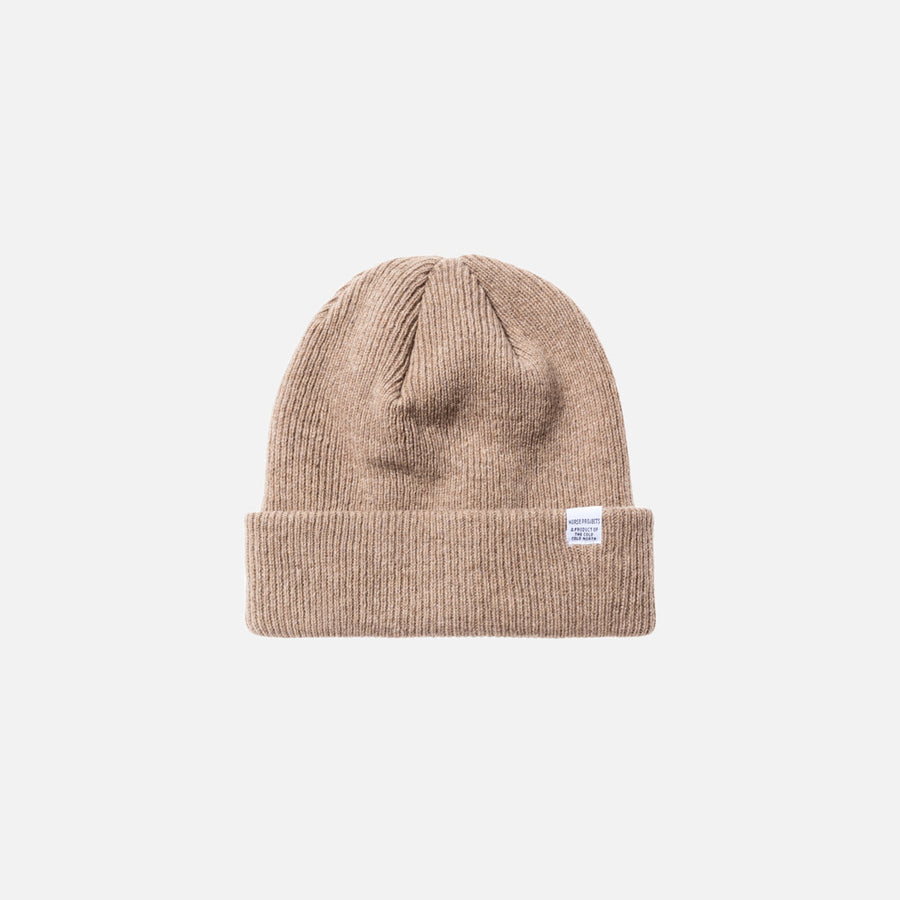 Norse Projects Beanie - Khaki