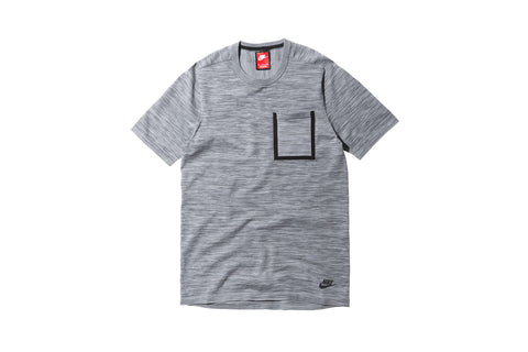 Nike Tech Knit Pocket Tee - Grey