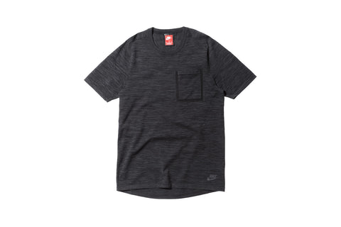 Nike Tech Knit Pocket Tee - Black