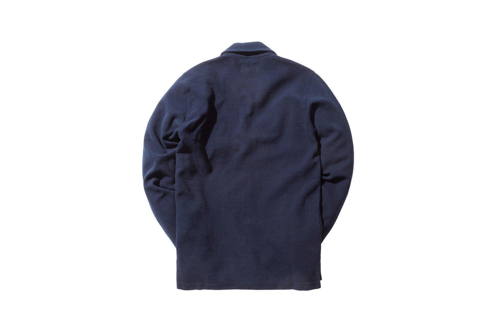 Norse Projects Magne Waffle Cardigan - Navy