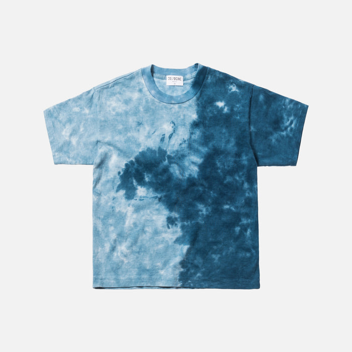 Kith x RE/DONE Boxy Tee - Blue Wave