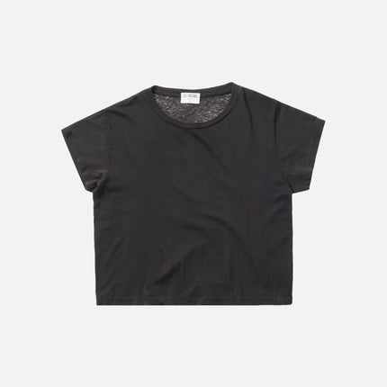 Kith x RE/DONE 1950s Boxy Tee - Vintage Black