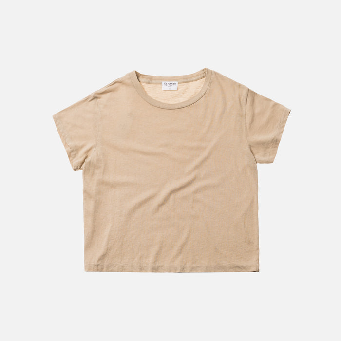 Kith x RE/DONE 1950s Boxy Tee - Tan