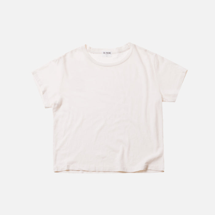 Kith x RE/DONE 1950s Boxy Tee - Vintage White
