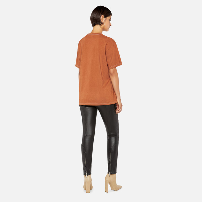Ottolinger Print Tee - Burnt Orange