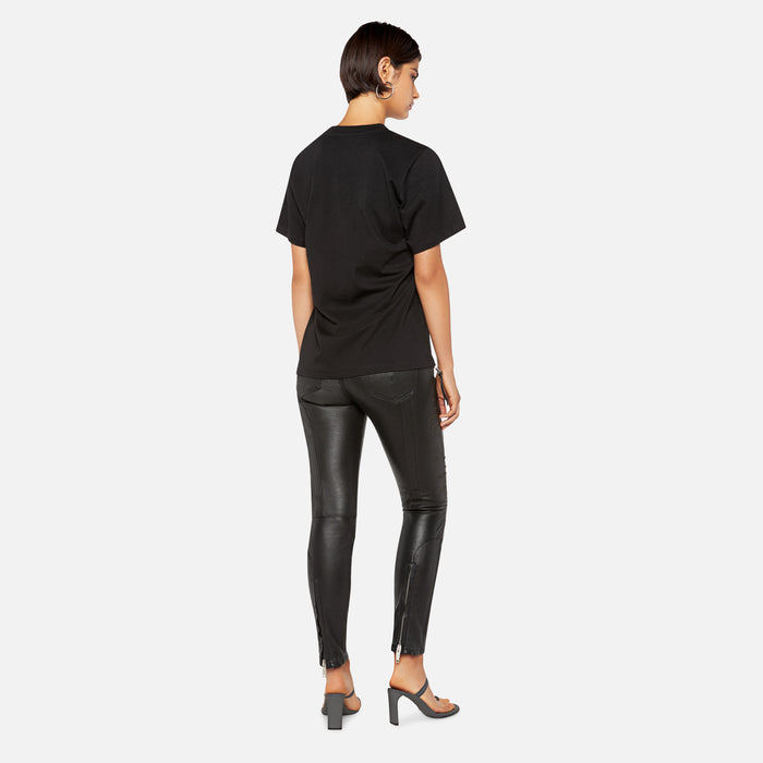 Proenza Schouler Care Label Tee - Black / White