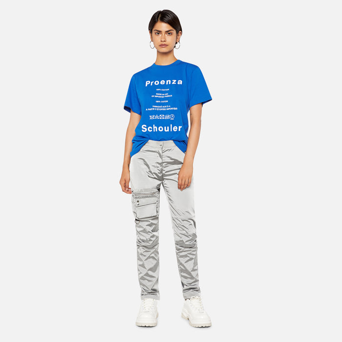 Proenza Schouler Care Label Tee -  Royal Blue
