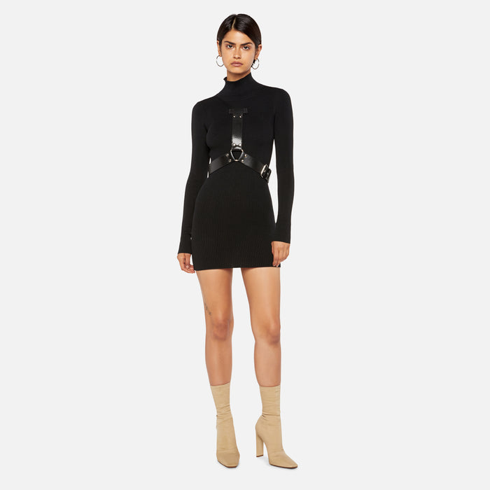 Alyx Studio Bondage Turtleneck Dress - Black