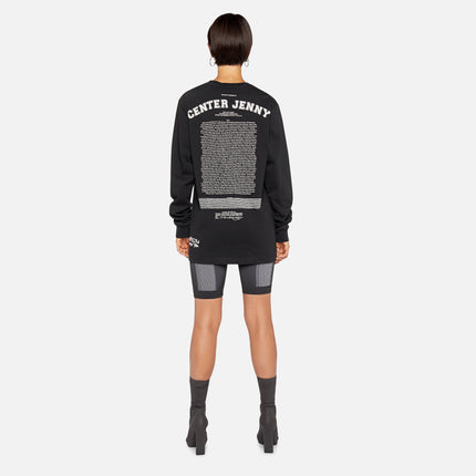 Telfar Center Jenny Long Sleeve - Black