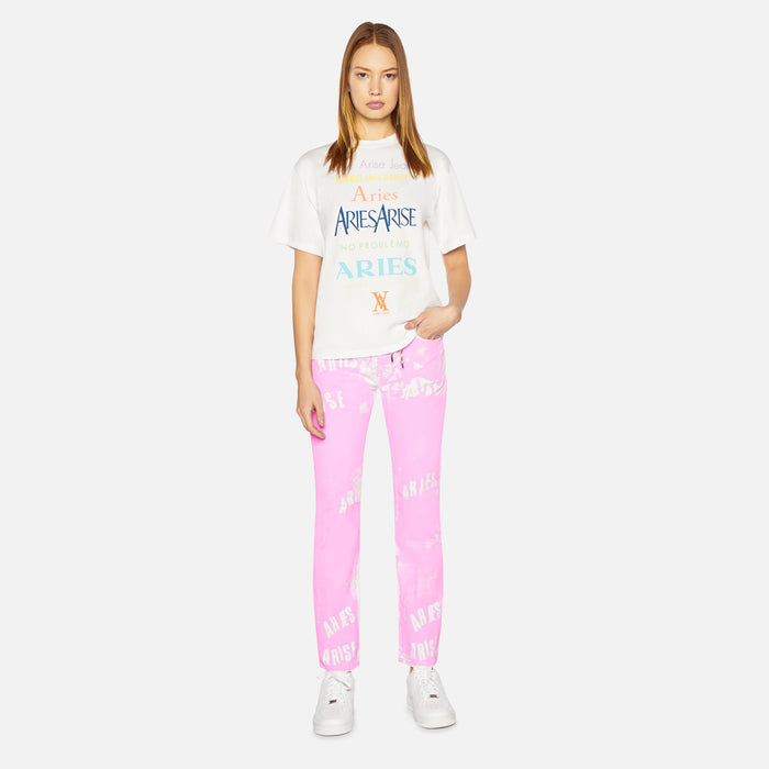 Aries Arise Lilly Jeans - Pink