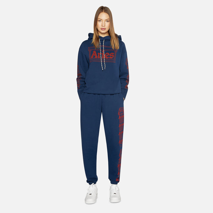 Aries Arise Sweatpants Column - Navy