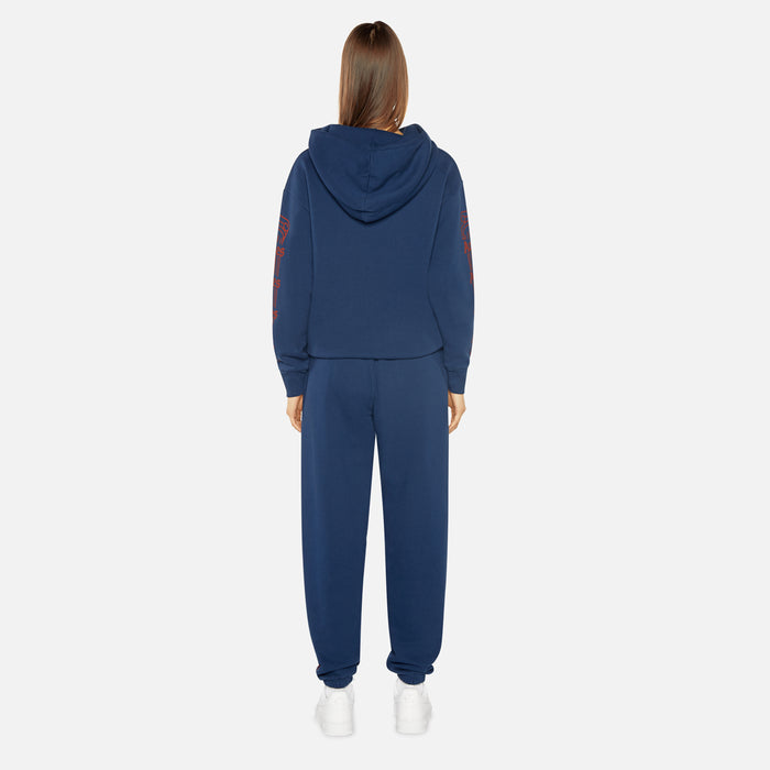 Aries Arise Hoodie Sweat Column - Navy