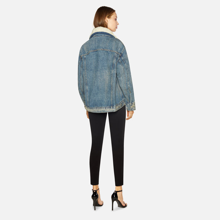 Sandy Liang York Denim Jacket - Blue