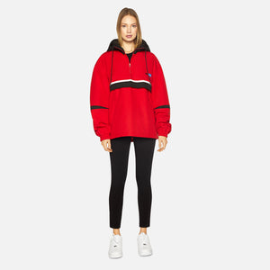 Ader Error Oversized Anorak Jumper - Red