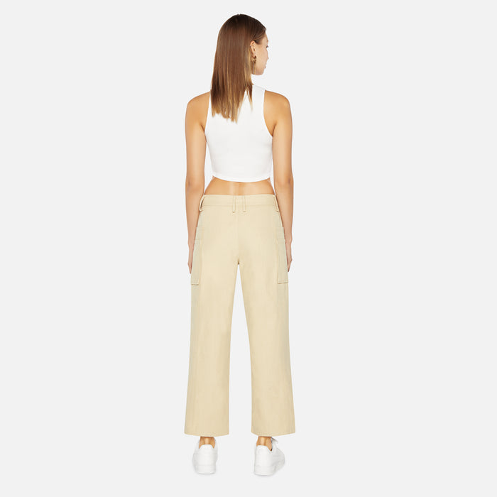 Ader Error Oxford Pants - Beige
