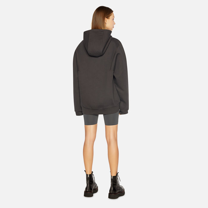 Ader Error Regular Fit Hoodie - Signature Charcoal