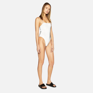 Kith Women x Frankies Printed Reflective Fabric Tarzana One Piece - Grey
